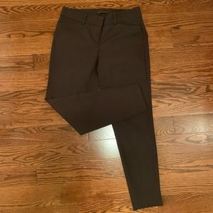 The Limited brown skinny dress pants